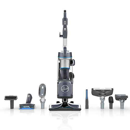 Hoover React Premier Upright Vacuum Cleaner, with Portable Lift Canister for Extended Reach, 30ft. Power Cord, Blue, UH73550PC