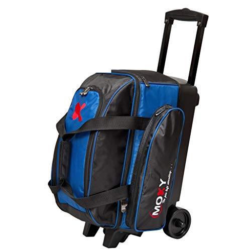 Moxy Bowlingtasche mit 2 Rollen, Blau