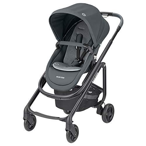 Maxi-Cosi Lila SP Silla de Paseo Ligera, Cochecito Plegable Compacto, 6 meses a 4 años, 0 - 22 kg, Essential Graphite (gris)