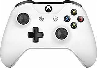 White Rapid Fire Custom Modded Controller Compatible with Xbox One S / X40 Mods for All Major Shooter Games (with 3.5 Jack)