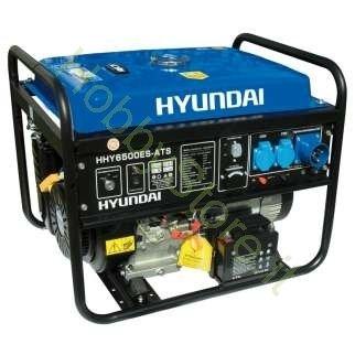 Hyundai - HY6500ES ATS - Generador corriente 5,5 kW