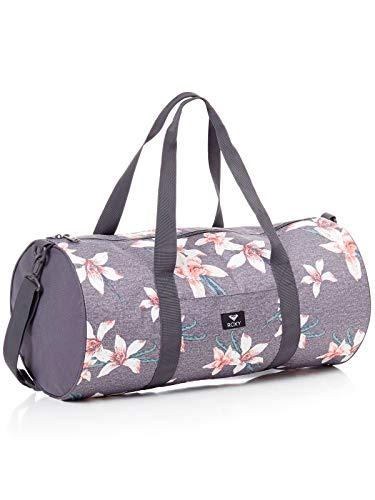 Roxy Kind of Way Petate de Viaje Grande, Mujer, Rosa/Gris (Charcoal Heather...