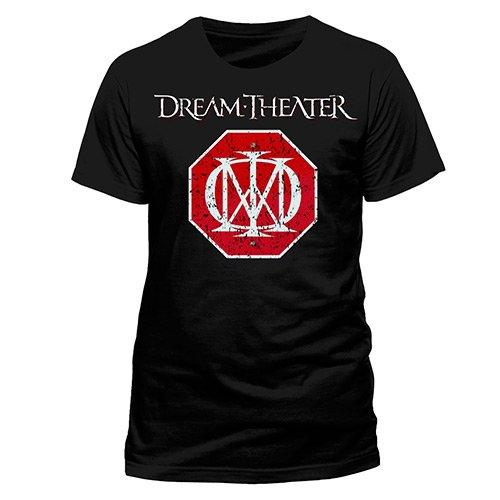 Live Nation heren Dream Theater logo T-shirt, zwart, XL