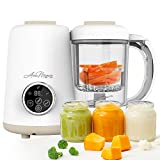 Avec Maman - Baby Chef, 4-in-1 Food Processor for Babies - Baby Food Blender | Steamer | Bottle...