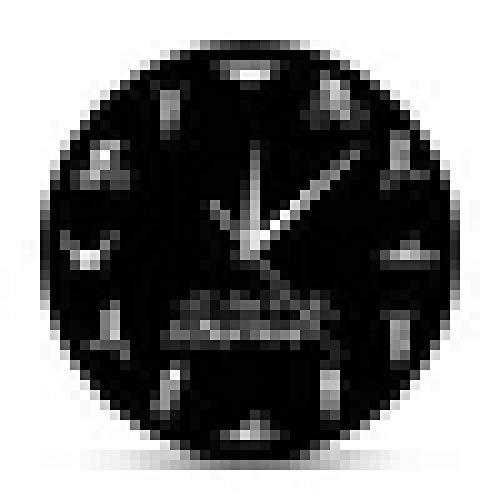 Reloj de Pared Triatlón Reloj de Pared Moderno Natación Bicicleta Ciclismo Correr Deportes Decoración del hogar Reloj de Gimnasio Triatleta Triatlón Fans Regalo
