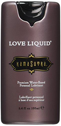 Kama sutra love liquid light water based lube 3.4oz (Package Of 2)