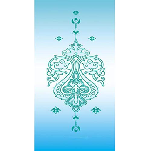 YUXIAOYU Naturkautschuk Yoga-Matte, Wildleder erweiterte Fitness-Matte verlängert, gefaltetes Handtuch, waschbare rutschfeste Damen,E
