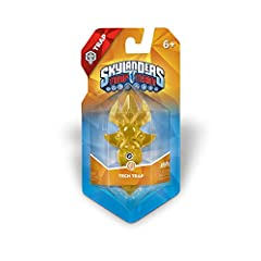Element shape style may vary and can be different than imaged on site. Capture villains, return them to Skylands and use them for good with this Life Trap. Collect more than 60 Skylanders and trap more than 40 villains to aid you on your quest to def...
