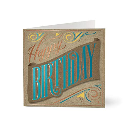 Hallmark Business Birthday Card for Employees (A Warm Wish) (Pack of 25 Greeting Cards)