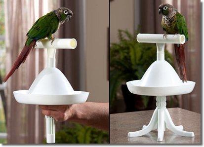 The Percher Portable Training Bird Perch by Caitec Corp (English Manual)