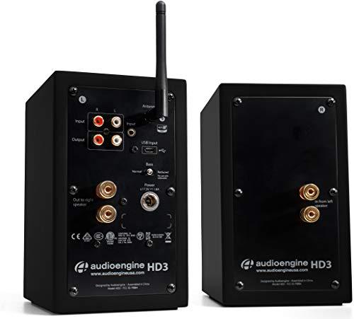 Audioengine HD3-BLK 60 W 2.0 Channel Speakers