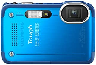 Olympus Stylus TG-630 iHS Digital Camera with 5x Optical Zoom and 3-Inch LCD (Blue) (Old Model)