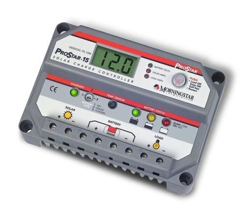 CHARGE régulateur 15 a 12/24V PV solaire Morningstar Prostar
