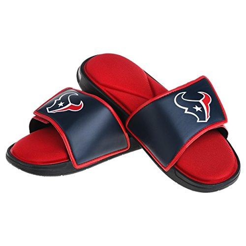 Houston Texans NFL Mens Foam Sport Slide - M