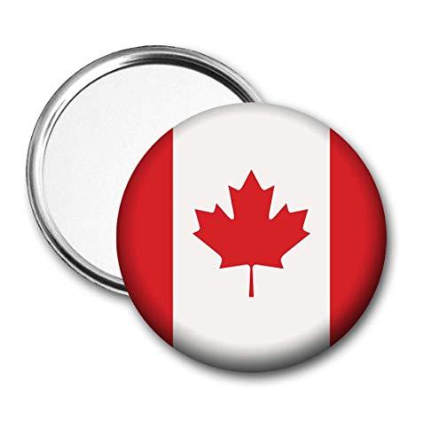 Canada Vlag Pocket Spiegel voor Handtas - Handtas - Cadeau - Verjaardag - Kerstmis - Stocking Filler - Secret Santa