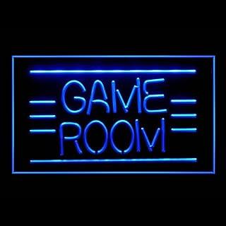 130011 Game Room Pinball Video DVD Poker Display LED Light Sign