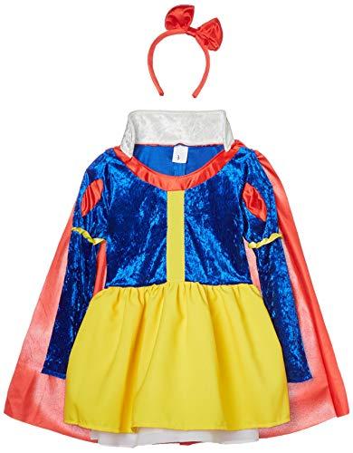 disfraz prime Disfraz Blancanieves Cuentos, Multicolor, estandar (limitsport 8421796108442)
