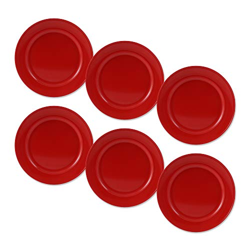 cartaffini – Plat fruits, rouge – ø 21,1 cm en mélamine