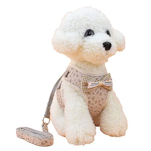 YiiJee Haustiergeschirr, Hundegeschirr, reflektierend, verstellbar, Brustgurt für mittelgroße und große Hunde Als Bild2 L