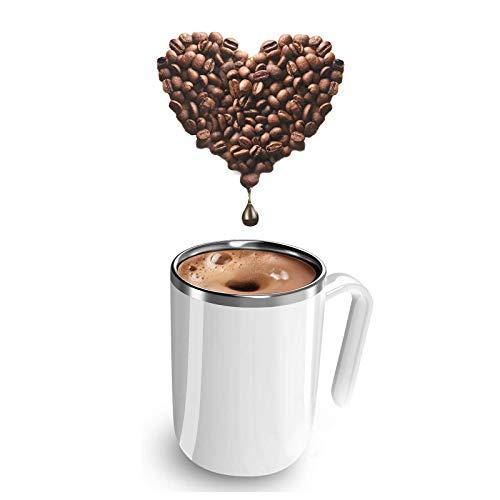 JIANGCJ Alto Valor Café Olaffi Auto agitación Taza de Mezcla Taza de té Auto agitación Taza magnética para el hogar Coffee Coffee Tea Hot Chocolate