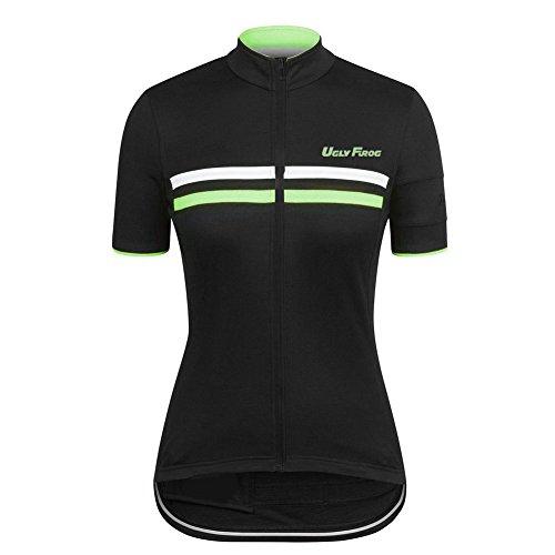 Uglyfrog HHDW04 Neue Kurze Ärmel Sommer kurzarmtrikot MTB Rennrad Cycling Jersey Fahrradtrikot Manga Corta Shirt Damen Breathable Radfahren Clothes