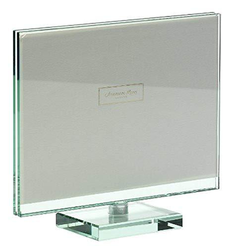 Addison Ross - Cornice per Foto in Vetro, Spazio Girevole per Foto Orizzontale, 10x15 cm