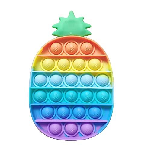 Bluecoolly Fidget Toy Antistress Spielzeug Anti Stress Sensorik Popit Figetttoys, Simple Dimple Fidget Toy Figuren Ball Figet Squishy Bubble Push Pop für Erwachsene und Kinder (V)