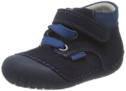 Richter Kinderschuhe Baby-Jungen Richie Sneaker, Blau (Atlantic/Blue 7202), 22 EU