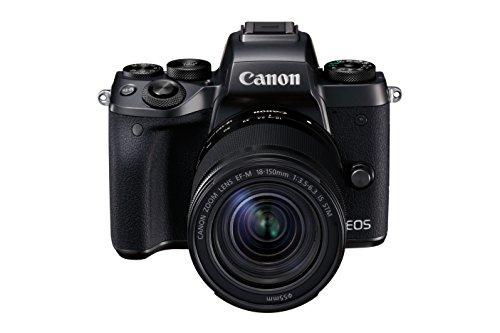 Canon EOS M5 Cámara sin Espejo sin Adaptador de Montaje, Color Negro