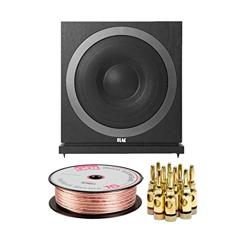Find Cheap Elac Debut 2.0 SUB3010 10-inch 400W Powered Subwoofer with Banana Plugs and Speaker Wire ...