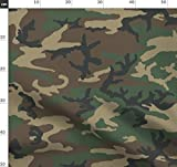 Armee, Wald, Klecks, Tarnfarbe Stoffe - Individuell