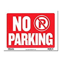 サインプレート Lサイズ 駐車禁止【NO PARKING】Sign Plate 看板 ガレージ インテリア アメリカン雑貨