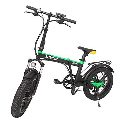 Watermelon Ebike Fat Tire Bicicleta eléctrica portátil plegable de aluminio, con batería de iones de litio de 36 V 250 W, para adultos