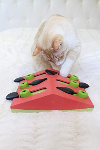 Product Image 10: Petstages Nina Ottosson Melon Madness Puzzle & Play – Interactive Cat Treat Puzzle