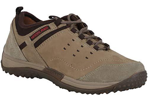 Woodland Men's Khaki Leather Casuals Shoes-8 UK/India (42 EU) -(OGC 2584117)