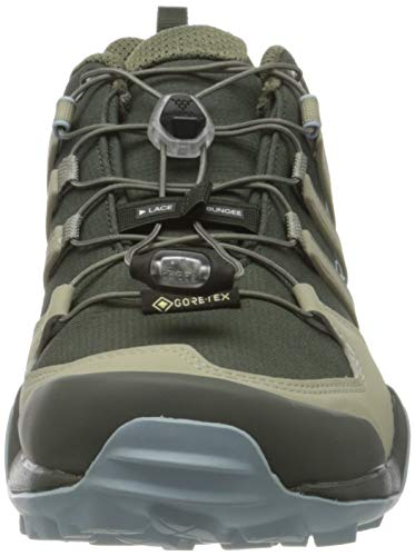 adidas Terrex Swift R2 GTX W, Zapatillas para Carreras de montaña Mujer, Leyenda Tierra Gris Pluma Gris Ceniza S18, 38 EU