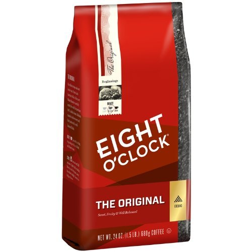 Eight O'Clock Ground Coffee, The Original, 24 Ounce (Pack of 1)