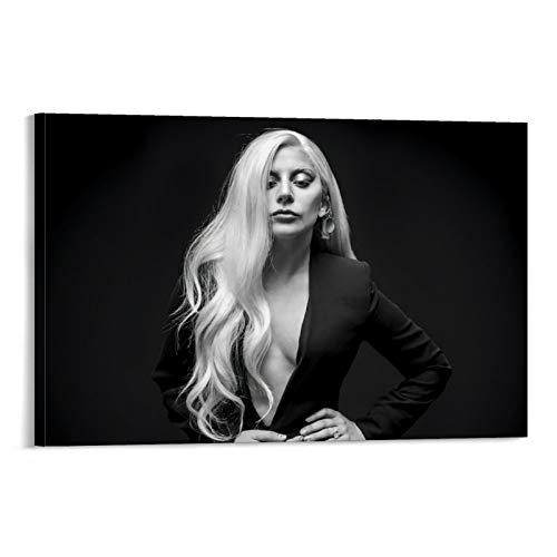 DRAGON VINES Lady Gaga Joanne Dress Fashion Sexy Bella HD stampa su tela Decorazione Della Parete Casa 20x30cm