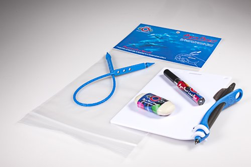 Aqua Pencil & Slate Underwater Kit -Blue