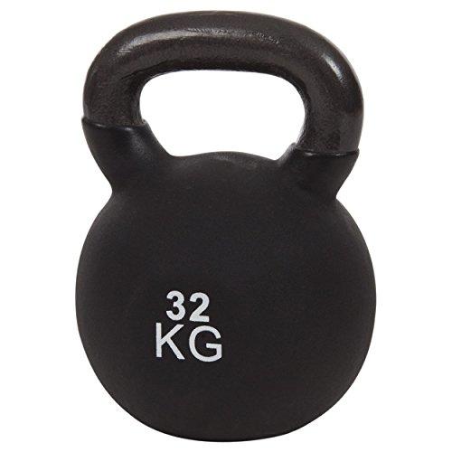 Sport-Tec Kettlebell, Kugelhantel, Kugelgewicht, Kraftsport, Hantel, Fitness 32 kg Schwarz