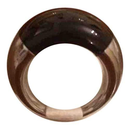 C. K. Calvin KleinDonna ring van staal en onyx zwart