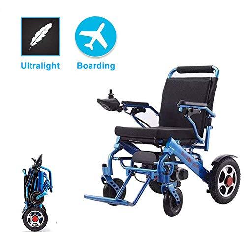 Elektrorollstuhl Leichter Rollstuhl, Elektrorollstuhl zum Ein- und Ausklappen in 1 Sekunde leichtester, kompaktester Elektrorollstuhlantrieb, Flugsicherer Transportstuhl, bis zu 15 km Reichweite,
