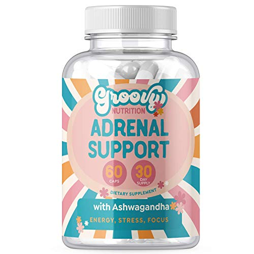 Adrenal Support Supplements for Cortisol Manager and Fatigue, Natural Energy, Mood Boost, Stress and Anxiety Relief, Focus with Adaptogens Ashwagandha, Rhodiola Rosea, Panax Ginseng and more