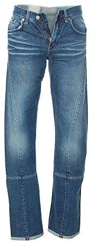 Take Two da Uomo Pantaloni Jeans Straight Leg 5Pocket Style Stanley