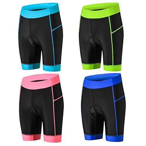 weimostar Pantalones Cortos de Ciclismo de las Mujeres de Bicicleta de GEL Acolchado MTB Bicicleta de montaña de Carreras de Carretera Medias pantalones de verano de montar