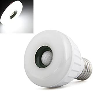 Lámpara Bombilla E27 25 LED 3528 SMD Sensor de Movimiento Blanco Seguridad