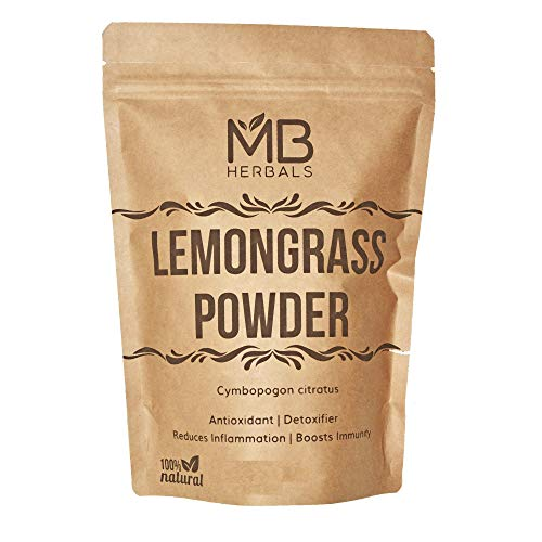 MB Herbals Lemongrass Powder 100 Gram | 3.5 oz | Lemon Grass Powder | Makes 30+ Servings of Refreshing Lemongrass Tea