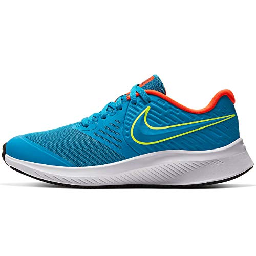 Nike Star Runner 2 (GS), Trail Running Shoe Unisex-Adult, Azul, 40.5 EU