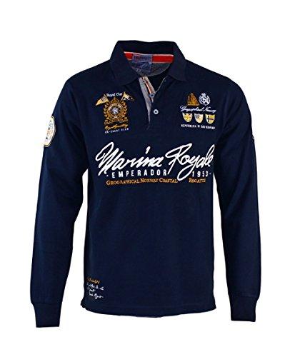 Geographical Norway Sweater Poloshirt Polohemd Kipawa Navy HW16-GN Größe XXL