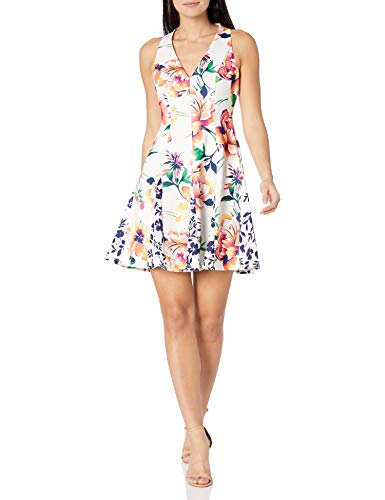 Vince Camuto Women's Petite Printed…